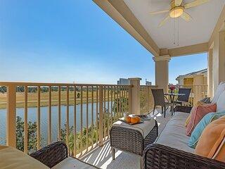 Africa-inspired, panoramic lake view/spacious/near pool/Disney/Univ/SeaWorld
