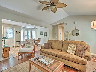 NEW! Beaufort Family Home - 6 Mi to Parris Island!