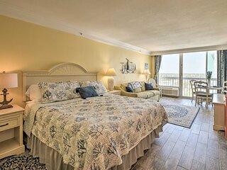 NEW! Daytona Beach Resort Studio w/ Ocean View!