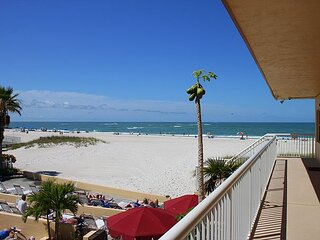 Updated 2nd Floor Unit by Pool - Only Steps to the Beach - Free WFii