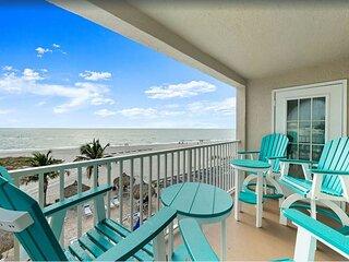 Luxury 3B 2B Breath Taking Views from this Beach Front Corner Unit