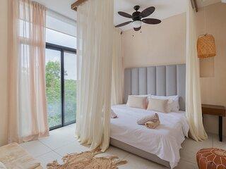 Fancy Stylish Condo | Great Lounge Area and Pool in Aldea Zama | High-Speed WiFi