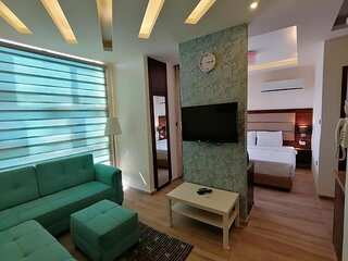 AlQimah Serviced Apartments 1 Bedroom with Balcony Panorama View Free Wifi