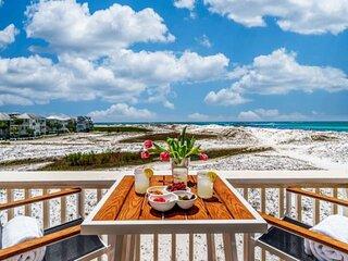 Amazing Water Views, End Unit, Wrap-Around Deck, Walk to Beach, Charming Hidden