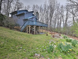 NEW! Homey 'River Ridge' Cottage ~ 8 Mi to Boone!