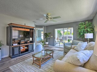 NEW! Courtyard Villa w/ Lanai, Community Amenities
