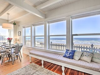 NEW! Beachfront Newport Cottage w/ Private Hot Tub