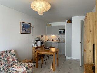 Appartement avec garage prive et acces direct a la plage