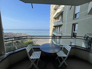 Residence vue sur mer, centre ville -800M, proximite plage