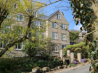 GODREVY is an apartment within the former Porthcurno Hotel, two bedrooms both