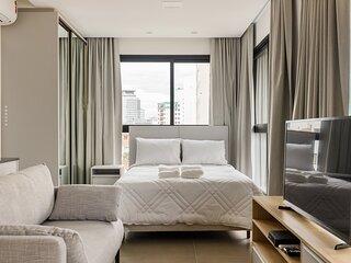 roomin | Studio moderno com vista para a Beira Mar