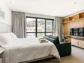 roomin | Studio sofisticado proximo a Beira Mar