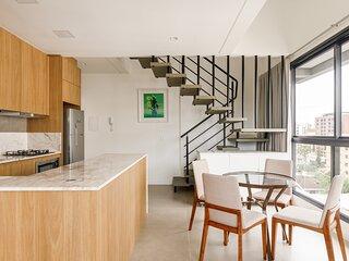 roomin | ZEE I Duplex moderno próximo a Beira Mar