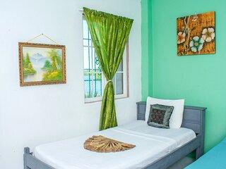 See Belize RELAXING Sea View Studio w/ INFINITY POOL & Overwater Deck, 1st Floor