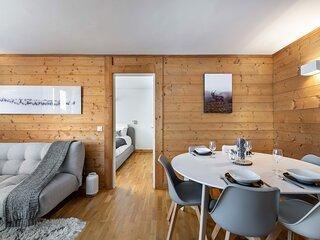 Charmant appartement situé à proximité du centre du village de Megève. Idéal