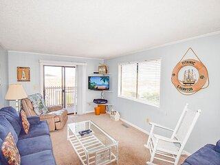 Inlet Point Villas Unit 2A! OceanView 2 Bedroom Condo in Cherry Grove!