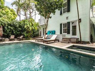 New Listing! Royal Palm Villa - Large Private Key West Sanctuary w/ Pool/Spa, Pa