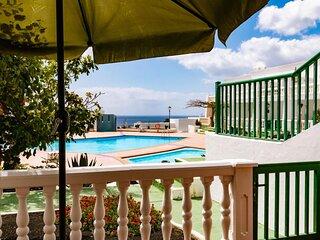 Apartamento en Lanzarote , con aire acondicionado y Wifi gratuito.