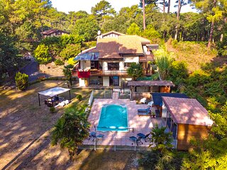 Villa in the forest of Seignosse 600m from the beach Great for large groups
