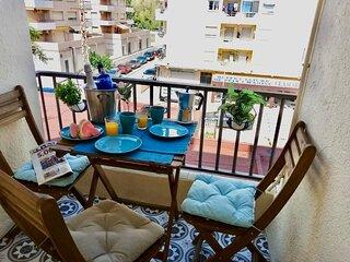 Newly designed, small apartment near the sea