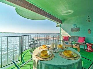 Resort-Style Lake Conroe Retreat w/ Balcony & View