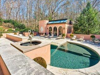 Luxury Italian Villa located on a private 8 acre estate north of Atlanta.