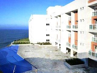 Apto duplex perto da praia com piscina e academia