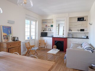 Villa Mon Etoile, 2 bedroom with terrace in city center of Le Touquet