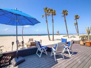 New Listing! Artist's Beachfront Retreat | Epic View, Garage, Walkable Locale