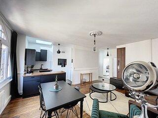 Appartement situe au 3eme etage refait a neuf en centre ville