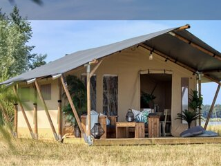 luxurious 2 bedrm safari tent fully self contained