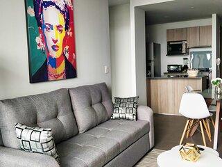 Beautiful 1BR Apartment w/ Stunning Views in Polanco
