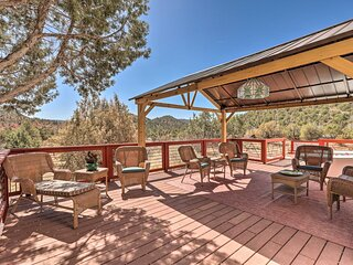 NEW! West Sedona Retreat w/ Deck < 4 Mi to Town!