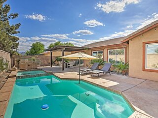 NEW! Luxury La Quinta Getaway with Private Pool!