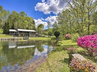 NEW! Georgia Mountain Home: Private Outdoor Oasis