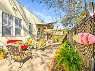 NEW! Colorful Oasis - 1 Block to Bayview Park!