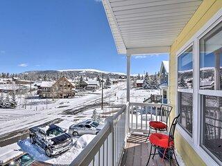 NEW! Cozy Leadville Retreat: Walk to Town & Trails