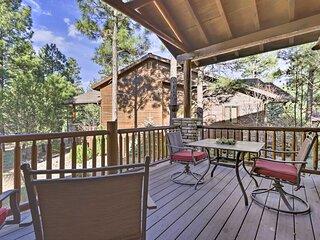NEW! Cozy Cabin Retreat, 4 Mi to Fool Hollow Lake!