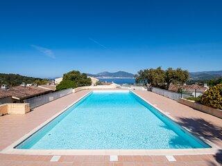 PORTICCIO - T2 avec piscine à 2 minutes de la plage