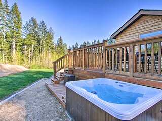 NEW! Olympic Forest / Hood Canal Escape on 5 Acres