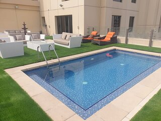 Elan suites luxury 6BR sky villa in JBR beach with private pool terrace 2002