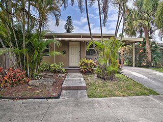 NEW! Dania Beach Home w/ Grill: 2 Mi to Boardwalk!