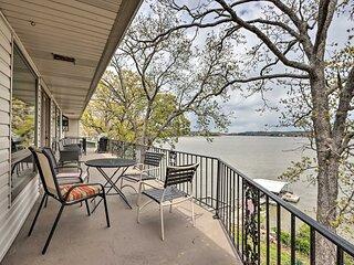 NEW! Spacious Lake of the Ozarks Home w/ 2 Decks!