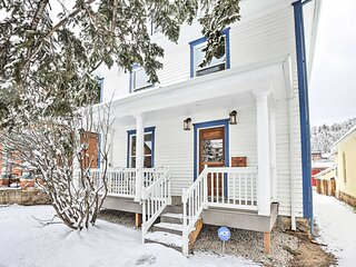 NEW! Historic Victorian Home in Dtwn Idaho Springs