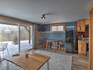 NEW! Cozy Condo: Ski-In/Out Burke Mountain Access!