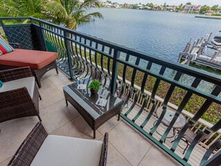 Waterfront Townhome off Gulf Shore Drive with Private Beach access across the st