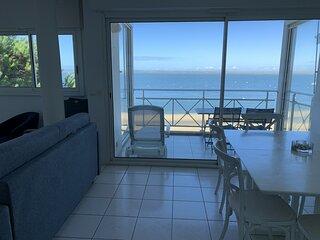 Appartement T3 avec très belle vue mer