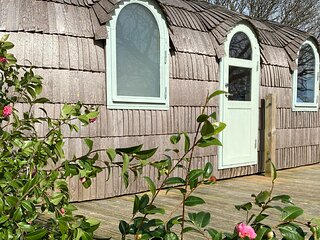 Lydcott Glamping: Prosecco - luxurious glamping nr Looe, Cornwall
