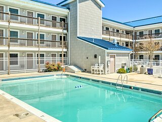 NEW! Ocean City Condo w/ Balcony: Walk to Beach!