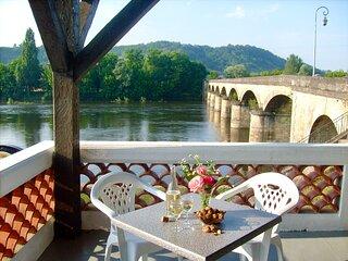 L'escale on the Dordogne Riverside (double rooms)